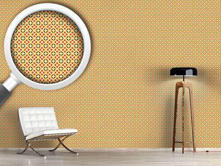 Pattern Wallpaper Star Checks