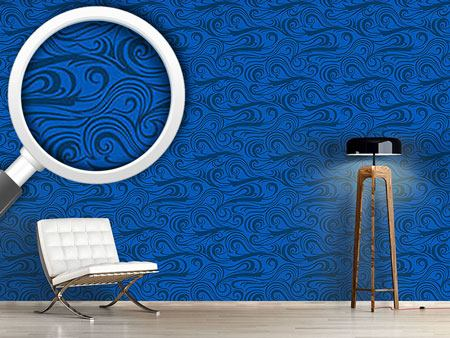 Pattern Wallpaper Brisk Waves
