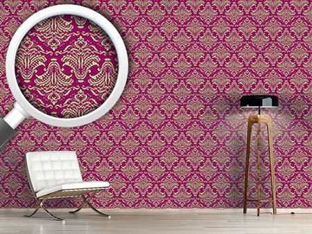 Pattern Wallpaper Purple Opulence