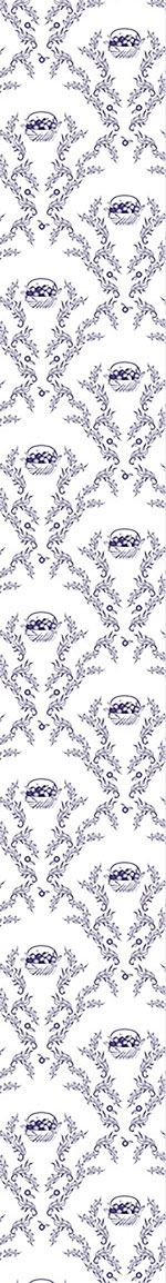 Papier peint design Emmas Cherries Blue