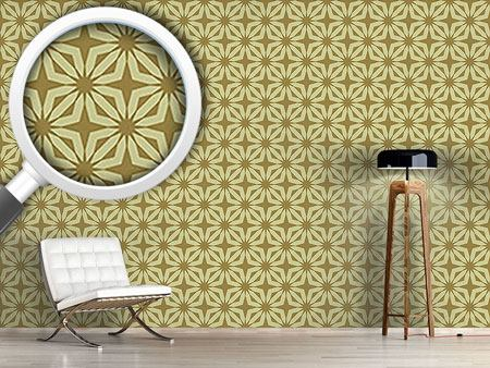 Pattern Wallpaper Stella Gold