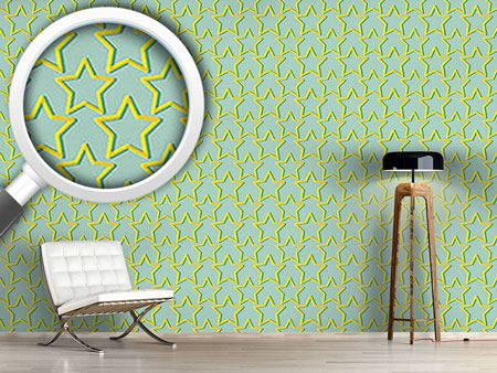 Pattern Wallpaper Twinkle Little Star