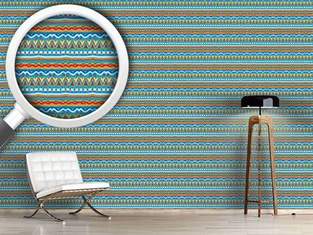 Pattern Wallpaper Fun Stripes
