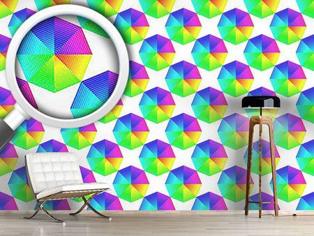 Pattern Wallpaper Color Spectra Octagon