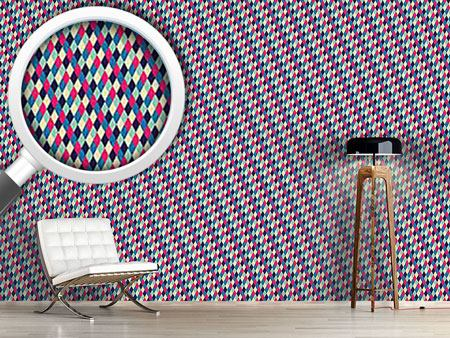 Pattern Wallpaper Harlequin Diamonds