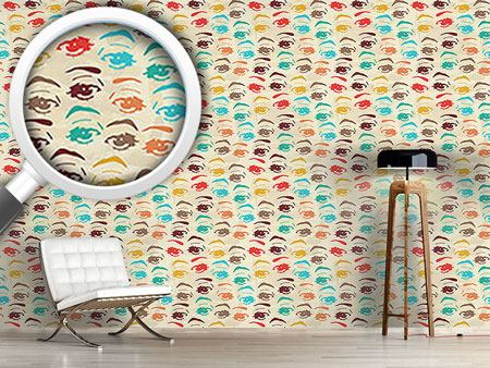 Pattern Wallpaper Pop Art Look