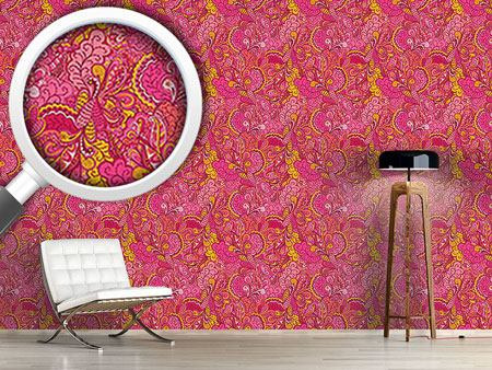 Pattern Wallpaper Exotic Fantasies