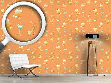Pattern Wallpaper Happy Hour