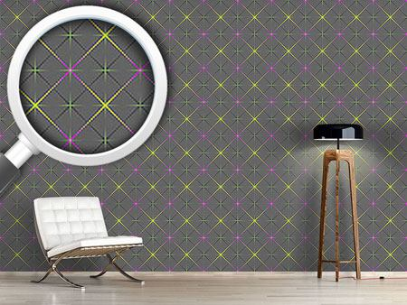 Pattern Wallpaper Sparkling Diamonds