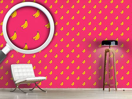 Pattern Wallpaper Bananas