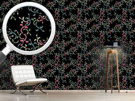 Pattern Wallpaper Flower Choral