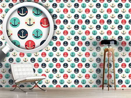 Pattern Wallpaper Anchors Of Love