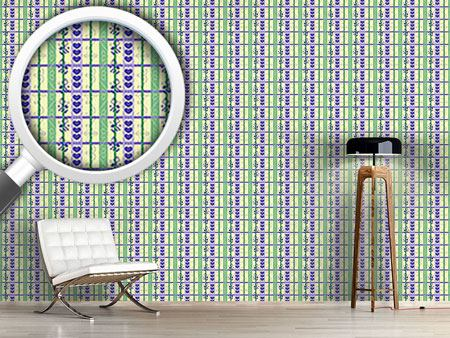 Pattern Wallpaper Hearst And Flores Vine