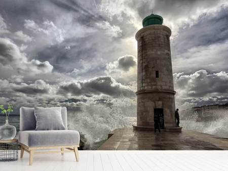 Photo Wallpaper The lighthouse in Marseille