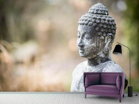 Photo Wallpaper Buddha made of stone