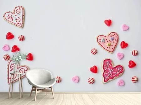 Photo Wallpaper Sweets from the heart