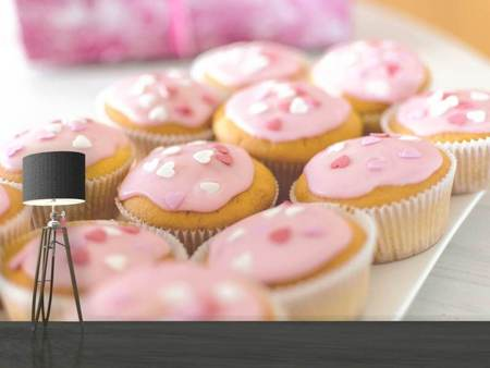 Photo Wallpaper Sweet cupcake