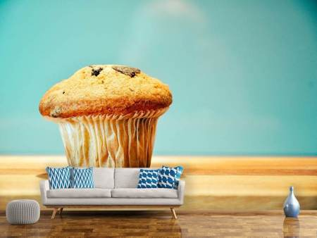 Photo Wallpaper A muffin