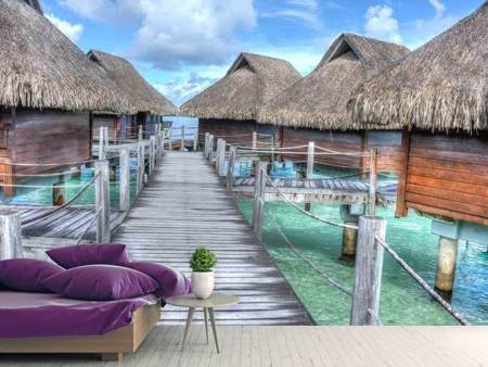 Photo Wallpaper Bora Bora