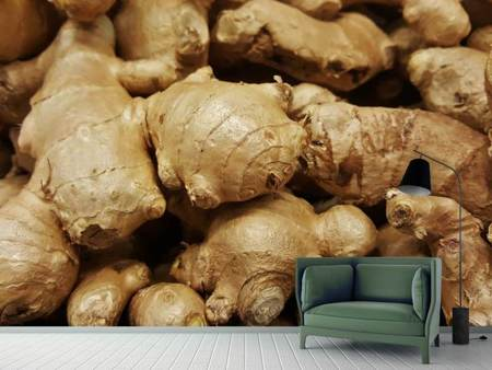 Photo Wallpaper Ginger tubers