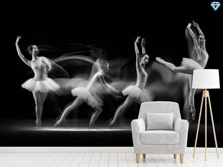 Photo Wallpaper Balerina Art Wave