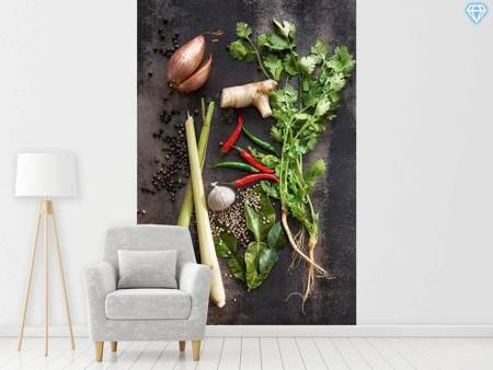 Photo Wallpaper Vegetables