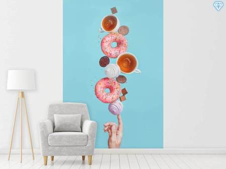 Photo Wallpaper Weekend Donuts