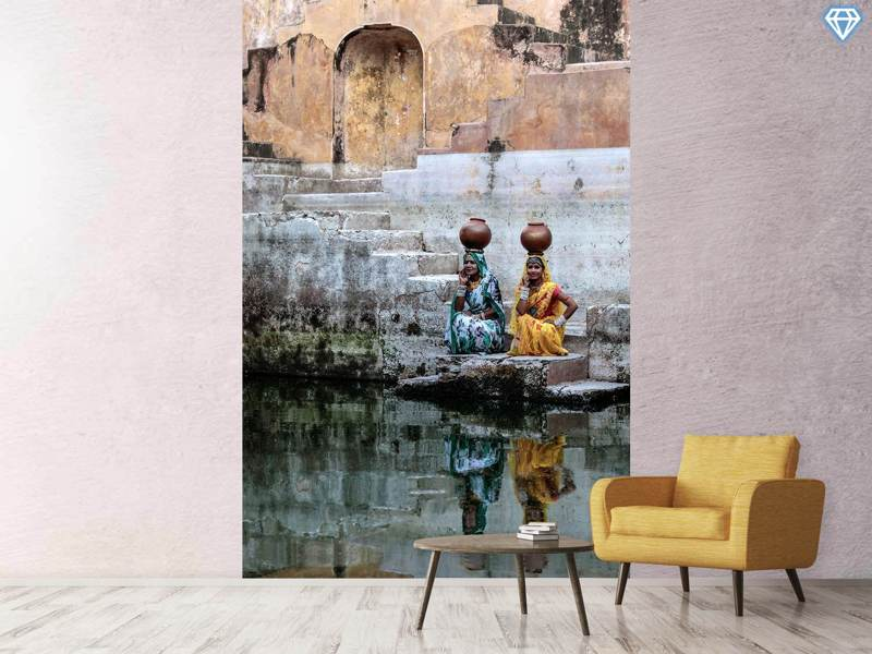 Papier peint photo Stepwell Reflections