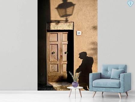 Photo Wallpaper Street and Shadow