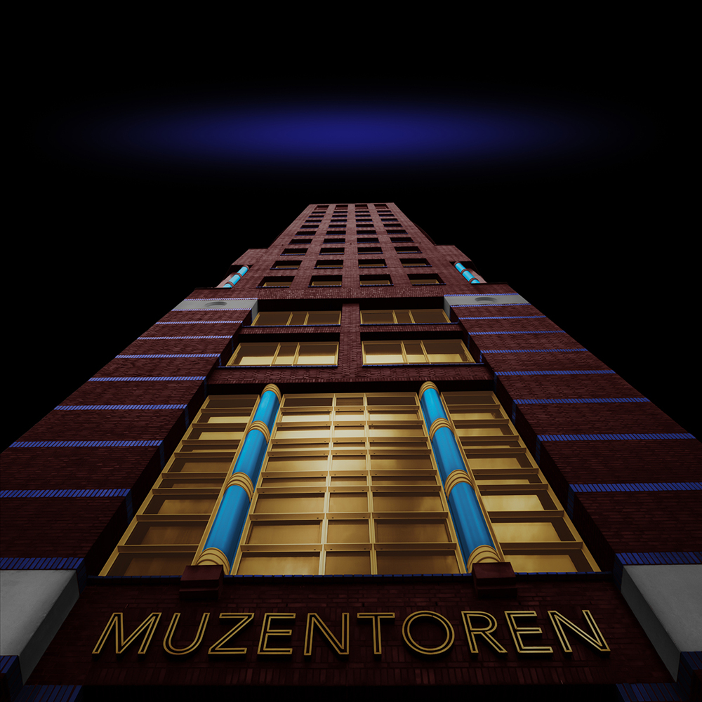 Photo Wallpaper Muzentoren