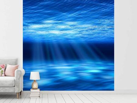 Photo Wallpaper Light Under Water