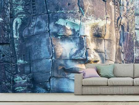 Photo Wallpaper Buddha in Rock