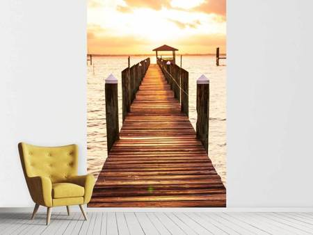 Photo Wallpaper Footbridge