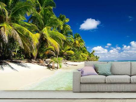 Photo Wallpaper The Deserted Island