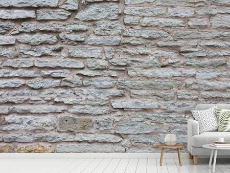 Photo Wallpaper Stone Wall