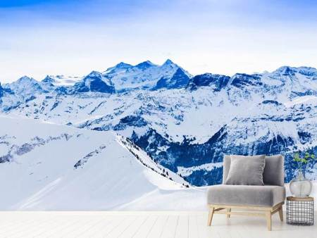 Photo Wallpaper The Swiss Alps