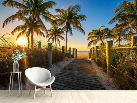 Photo Wallpaper The Beach House