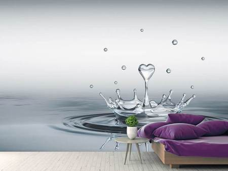 Photo Wallpaper Water Figure