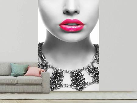 Photo Wallpaper Red Lips