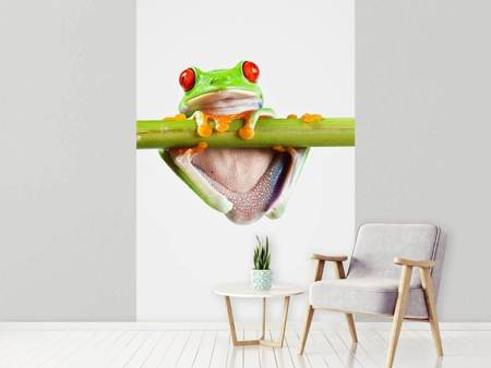 Papier peint photo Acrobaties de grenouille